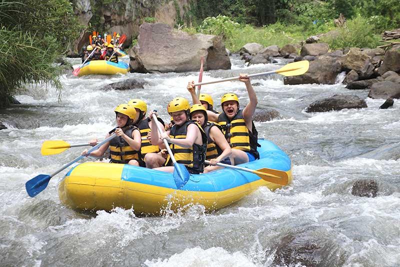 Ayung River Rafting Ubud Bali Ubud Rafting Bali
